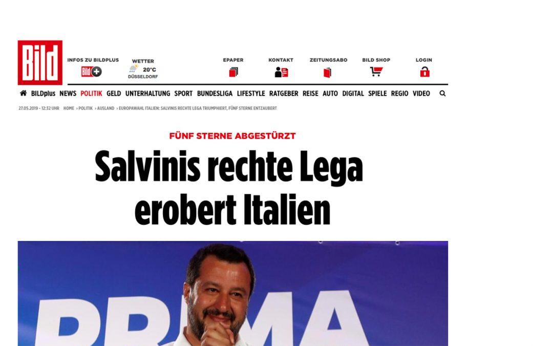 Il trionfo di Salvini tra paure e alleati: l'Italia vista dai quotidiani esteri