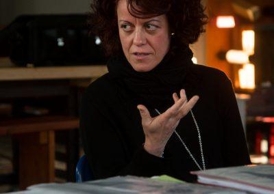 Cristina Pastorello dell'associazione Oltre le quinte