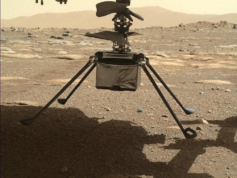Spazio: la svolta di Ingenuity, primo drone a volare su Marte