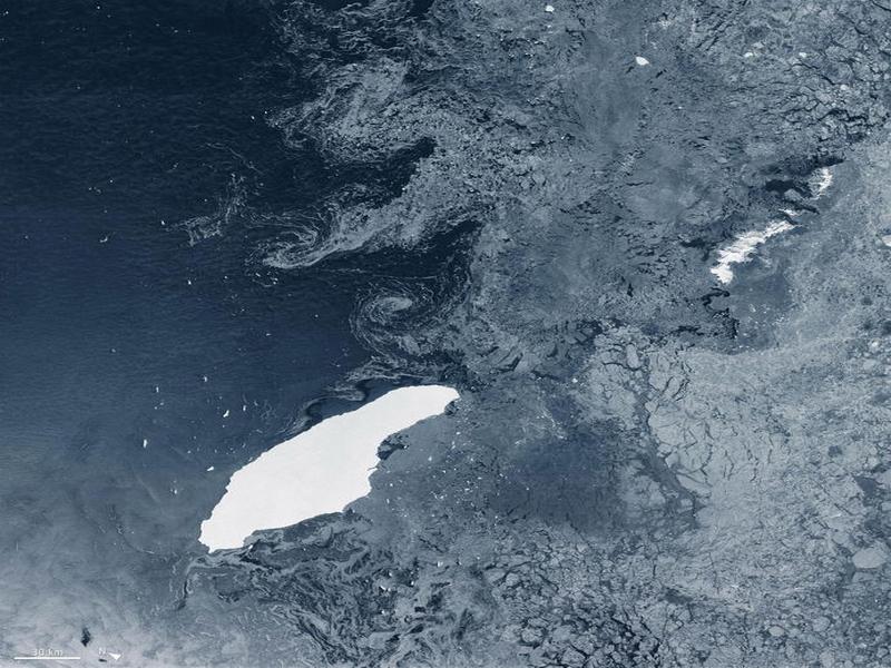 Si è sciolto A68, l'iceberg più grande del mondo