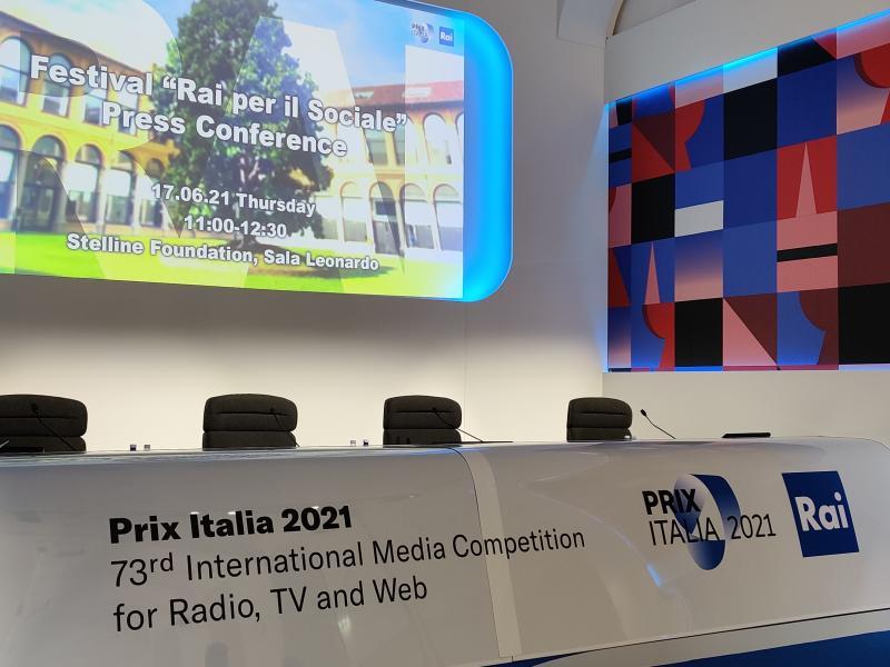 Prix Italia, la Rai presenta il primo Festival per il Sociale