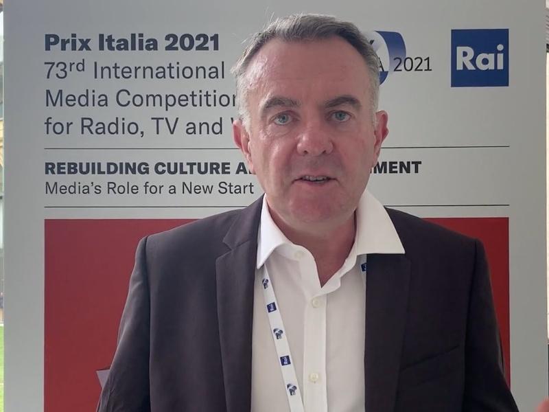 Noel Curran (EBU): «Con il Covid esaltato il valore della buona informazione» / VIDEO