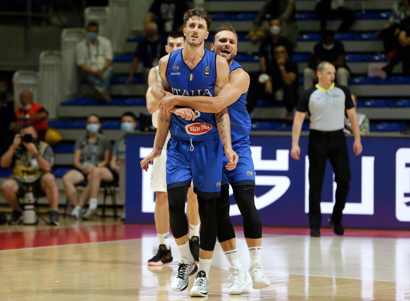 Basket: trionfo Azzurro in Serbia, si vola alle Olimpiadi dopo 17 anni