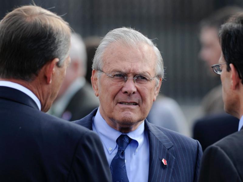 Morto Donald Rumsfeld, segretario alla Difesa durante la guerra in Iraq